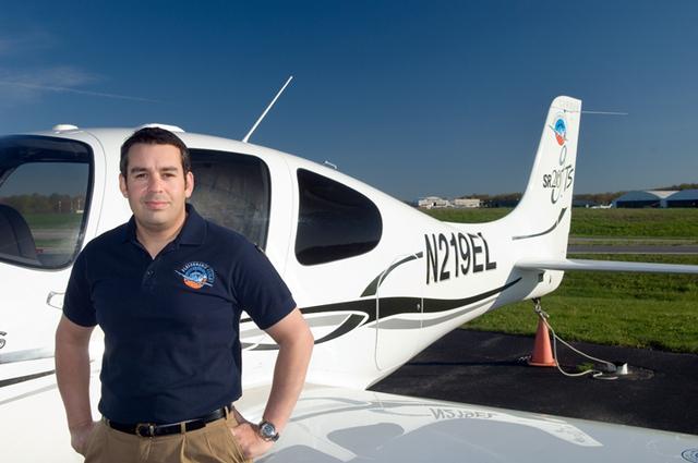 Lewis Liebert, President & CEO of Performance Flight