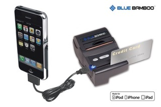 Blue Bamboo: First Mobile Printer and Payment Solution for iPhone 4