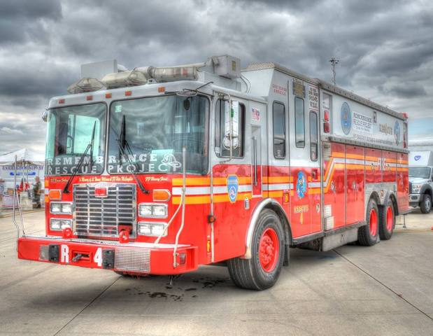 FDNY Rescue 4 - Historic Rescue Truck From 9/11 Set To Visit Detroit Area