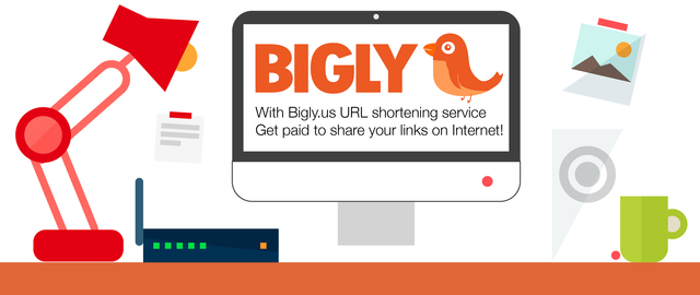 With BIGLY.US Shrink, Share and Earn Money. It's that easy. Get paid to share your links on Internet