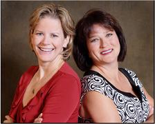 Dr. Caron Glickman (left) and Barbara Tritz, RDH (right)