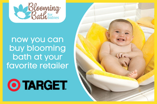 The Blooming Bath is Now Available in Target Retail Stores