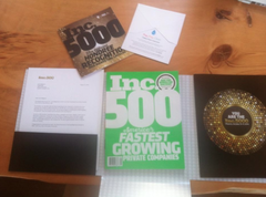 #247 on the Inc 500!
