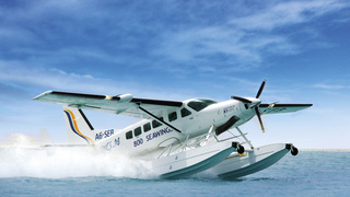 Travel to Halong Bay by seaplane with Indochina Charm Travel
