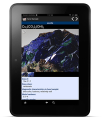 Tasa's Mineral Database app is now available for Android