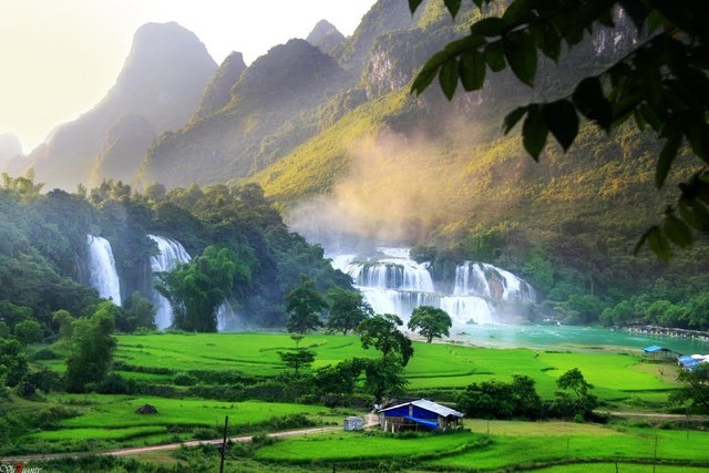 Ban Gioc Falls with Vietnam tour packages
