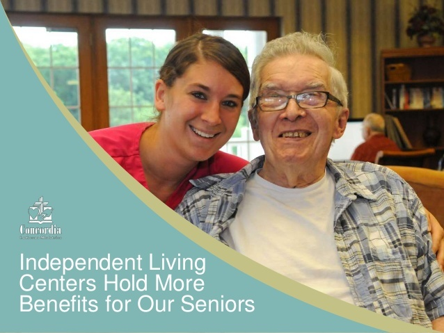 Concordia hopes to help seniors and their loved ones understand the various benefits of living in a