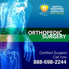 Hispano Americano Hospital announces its renewed Orthopedic Surgery program