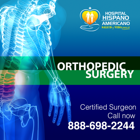 Orthopedic Surgery at Hispano Americano Hospital in Mexicali