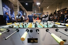 """In the pits"" at the ITSF World Championships of Table Soccer"