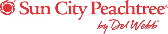 Sun City Peachtree by Del Webb logo