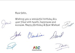 Fully Automated Birthday Card Service Helps Professionals Show Customer Appreciation for Clients.