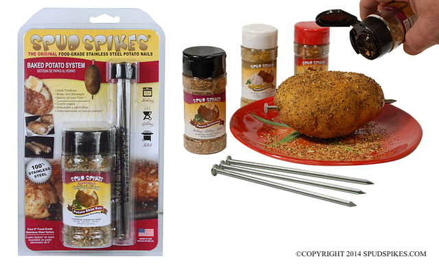 Spud Spikes Baked Potato System (combo pack)