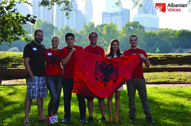 Albanian Voices organizes gathering for Atlanta Albanians: September 2014.