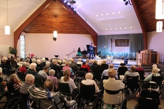 Concert in Care takes place for more than 120 seniors in residential care.