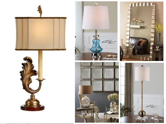 Fine Table Lamps, Mirrors and Home Accessories