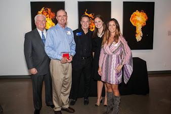 Receiving our Hot Dozen Award