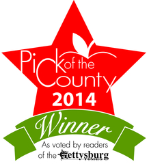 "Dr. Rita Tempel Wins The Gettysburg Times ""Pick of the County"" Contest"