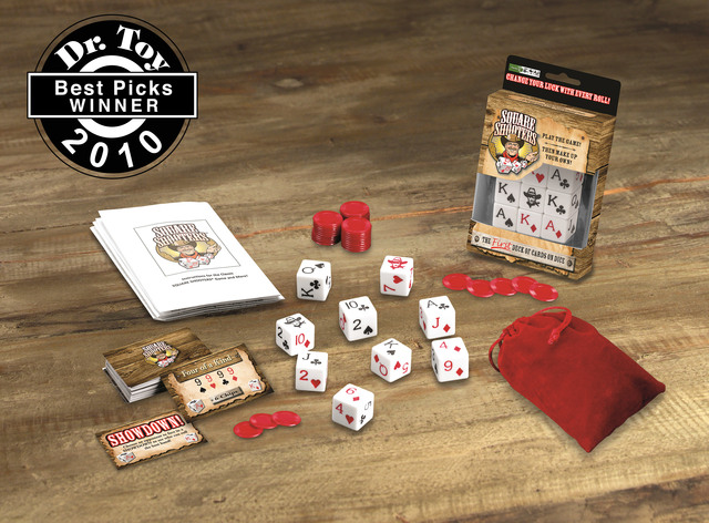 Square Shooters Game Set