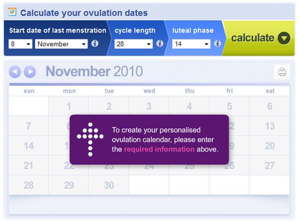 The Ovulation Calculator by Huggies New Zealand