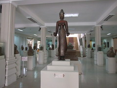 Statues in Cham museum
