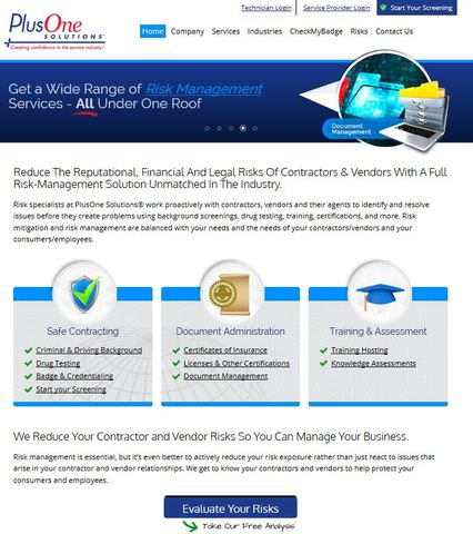 Xcellimark revamped the website for PlusOne Solutions® by giving it a fresh and responsive design.