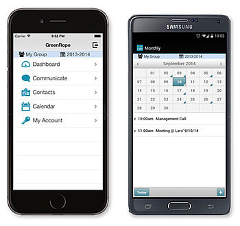 The New GreenRope Mobile CRM App for Android and iPhone Users