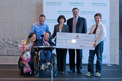 Over 500 donors have helped the Bigioni family reach their goal including a $150,000 donation from SmartCentres.