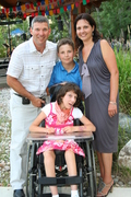 The Bigioni family have been coming to Holland Bloorview for 14 years and use many of the respite care programs.