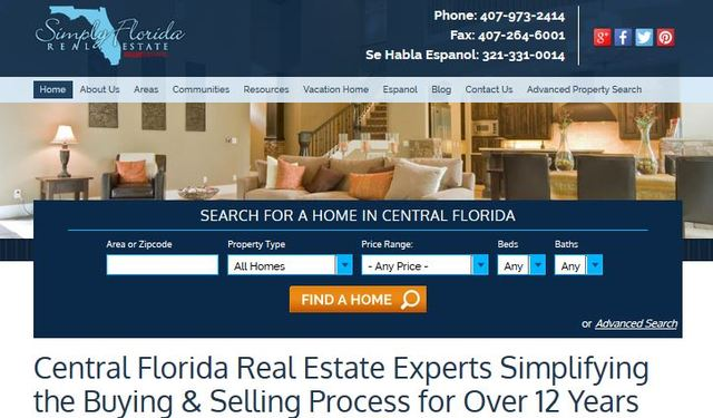 The new website features a quick search widget on the home page that helps people quickly and easily locate their dream property.