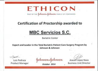 Mexicali Bariatric Center receives certification from Johnson & Johnson