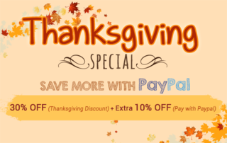 Give Thanks In A Special Way With Audio4fun's Thanksgiving Special 2014