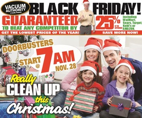 Vacuum Authority in Kentucky and Indiana Announces Black Friday Sale with