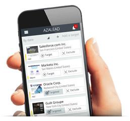 500 B2B companies analyze their web site traffic with Azalead