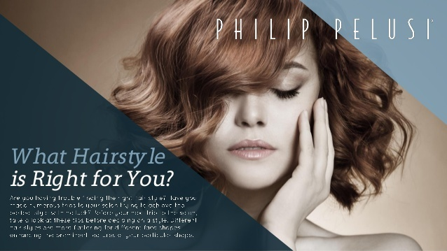 In their newest slideshow, the professional salon stylists at Philip Pelusi offer their suggestions to help you find your next hair style.