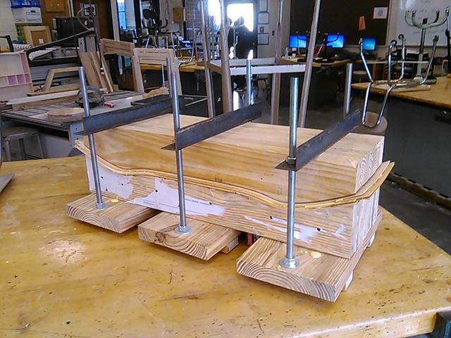 Athens Drive High School is an example of how educational institutions have begun to see skateboard builds as a vehicle to further woodworking,  bringing in Marwood Veneer to start their projects.