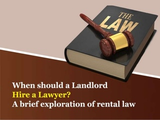 Allegheny Attorneys At Law Seeks to Guide Landlords through Legal Proceedings with New Slideshow