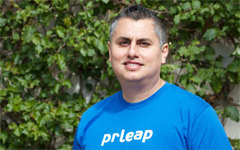 Merrick Lozano - Co-Founder of PRLeap.