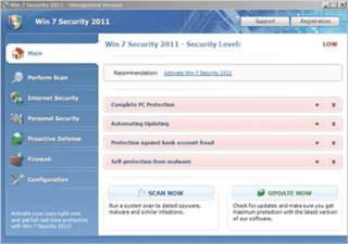 Fake Security Program 'Win 7 Security 2011' Swindles Computer Users Out of Their Money