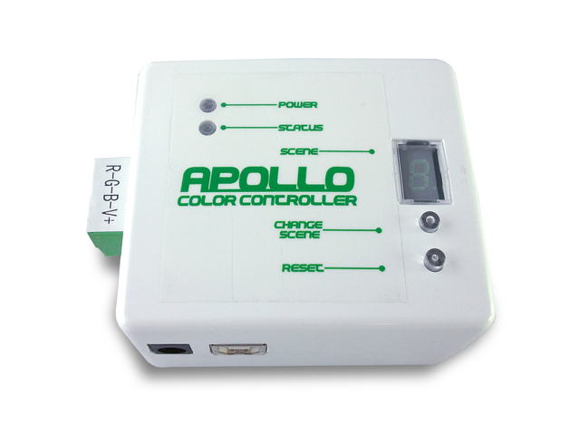 Apollo Finish LED Color Changing Controller