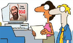 Beware of for Osama bin Laden Poisoned Search Results and Spam