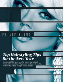 Give yourself a new look this year and discover some of the latest hair styling trends with help from the stylists at Philip Pelusi salons.