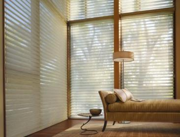Alustra® Silhouette® window shadings with new woven sheer fabric