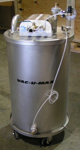 VAC-U-MAX offers a line of off-the-shelf explosion proof vacuum cleaners fit for-service certification in Class II, Division 2 environments due to their bumper-to-bumper grounded and bonded design.