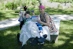 Louise touches on the challenges and rewards of parenting kids with disabilities