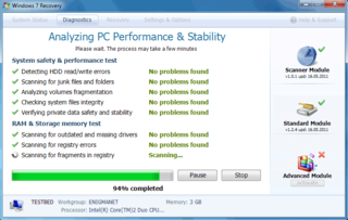 Fake PC Security Program Windows 7 Recovery Promises Malware Removal But Leaves PC Users in the Cold