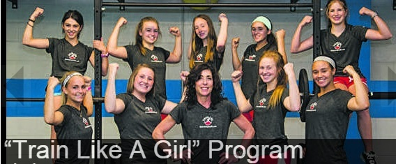 """Certified Personal Trainer, Cindy Geer, leads the """"Train Like A Girl"""" program at The Fitness Studio in Louisville, Kentucky."""