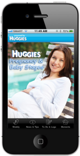 FREE Pregnancy and Baby Stages iPhone App from Huggies Australia