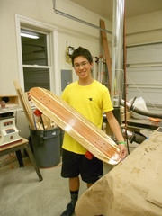 Marwood Veneer Supplies Troops for Longboard and Penny Board Build Projects as part of New Initiatives in Varsity Boy Sc…