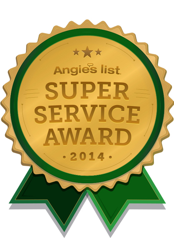 2014 Angie's List Super Service Award - American Comfort's One Hour Heating & AC, Elk Grove Village IL.